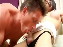 shemale ladyboygoo ladyboy anal blowjob asian