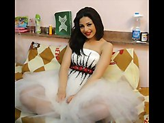 Actress Mna Fazli