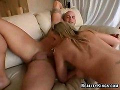 cumshot facial blonde blowjob fingering squirting sofa pussylicking ontop pussytomouth highheels teasing pussyfucking cuminmouth