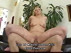 blonde sperm cum