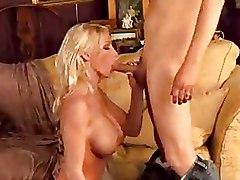 Blondes Milf blowjobs riding