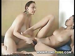 Dildos Lesbian Lingerie Masturbation