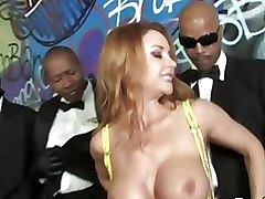 Big Tits Gang Bang Interracial