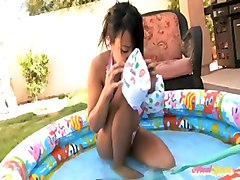 asian outdoor masturbation fingering
