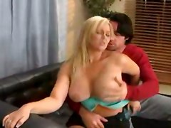 cumshot hardcore blonde blowjob shaved fingering chubby busty sofa asslicking pussyfucking