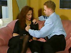 Stockings Threesome ffm milf