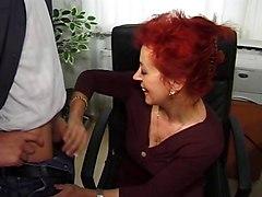 Grannies Matures Redheads