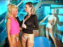Big Tits Lesbian Blonde Big Tits Blonde Caucasian Kissing Lesbian Masturbation Shaved Toys Vaginal Masturbation