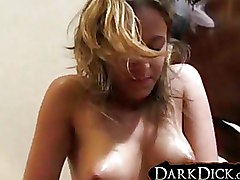 Amateur Interracial hot milf riding black cock