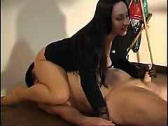 Femdom Handjob Cumshot Facesitting LaceCum BJ HJ POV Bizarre