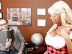 Big Tits Office Stockings ass babe bigcock bigtits blonde blowjob boobs busty classromm schoolgirl