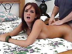 Bedroom Housewives Redheads doggy style w wives