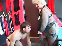 Foot Fetish Grannies Stockings