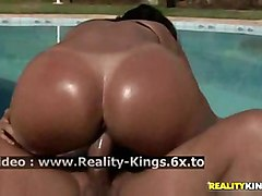 fucking hardcore big hot sexy outdoor ebony booty