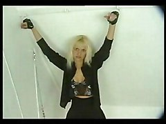 Blonde Babe Gets Her Penalty