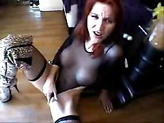 Masturbation Redhead Caucasian Masturbation Piercings Redhead Solo Girl Stockings Toys Vaginal Masturbation