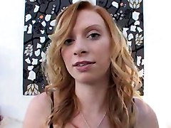 cute busty irish redhead