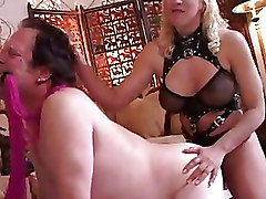 Femdom Fetish Strapon