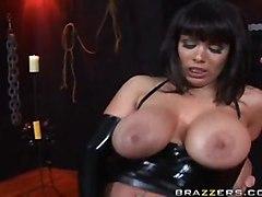 facial big tits milf blowjob bondage leather