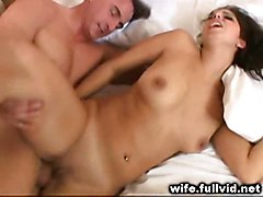 hardcore milf blowjob brunette threesome pussyfucking housewife voyeur reality straight