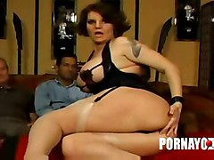 interracial creampie dp gangbang with and