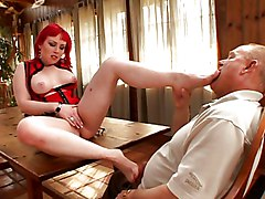 Blowjob Cumshot Facials Redhead Blowjob Caucasian Couple Cum Shot Facial Fetish Oral Sex Piercings Redhead Stockings Tattoos Young & Old Miss Bunny