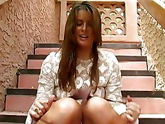 Babes Masturbation Outdoor