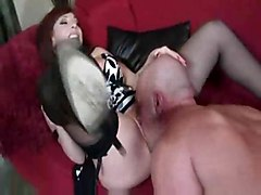 fucking hardcore milf redhead cocksucking dicksucking redhaired pornstars couple couch eatingpussy big tits olderwoman cum shot cougar cumonface cockriding brittany