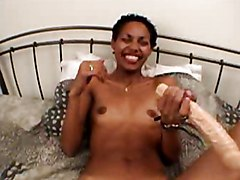 Ebony Interracial Masturbation Black-haired Ebony Interracial Masturbation Shaved Small Tits Solo Girl Toys Vaginal Masturbation
