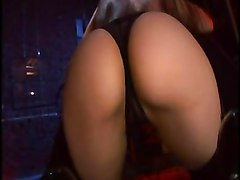stockings cumshot facial hardcore blowjob brunette threesome pussyfucking