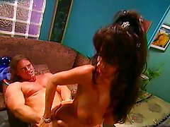 Big Tits Big Tits Black-haired Blowjob Caucasian Couple Cum Shot Deepthroat Oral Sex Vaginal Sex