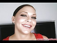 Babes Blowjobs Deep Throat amateur allure blowjob cum cumshot eat mila oral swallow