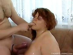 big boob chubby fat mature plumper cumshot amateur