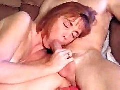 blowjob mature redhead