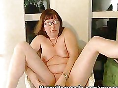 Fat Masturbation Mature boots cucumber masturbation