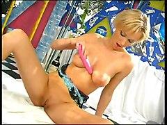 Masturbation Blonde Blonde Caucasian Masturbation Solo Girl Toys Vaginal Masturbation