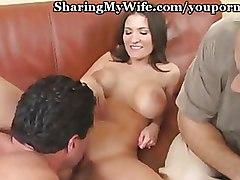 Big Tits Cuckold wife