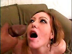 Cumshot Interracial POV Brunette Couple Cum Shot Glamour Interracial POV