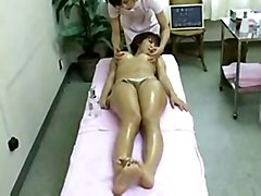lesbian oiled asian fingered massage spa