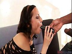 Blowjob Interracial Big Cock Black-haired Blowjob Caucasian Couple Interracial Masturbation Oral Sex Toys Vaginal Masturbation
