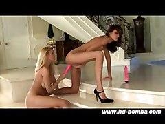 Blondes Brunettes Lesbians Masturbation Sex Toys