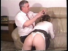 British Old+Young Spanking