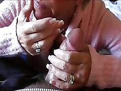 Blondes Cum Swallowing Granny