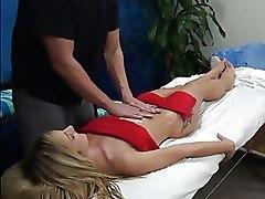 Massage Oiled Teen blowjob fucking