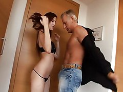 Anal Anal Sex Blowjob Brunette Caucasian Couple Cum Shot Footjob Masturbation Oral Sex Rimming Shaved Vaginal Masturbation Vaginal Sex Young & Old Abigaile Johnson