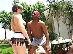 Group Facials MILF Gangbang Interracial Blowjob Caucasian Cum Shot Deepthroat Facial Gagging Gangbang Hairy Interracial MILF Oral Sex Piercings Tattoos Vaginal Sex