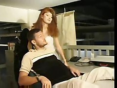 redhead blowjob pussyfucking hairypussy anal asstomouth cumshot