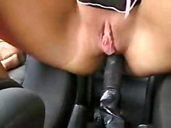 Anal Amateur Squirting Masturbation Amateur Anal Masturbation Black-haired Car Caucasian Masturbation Shaved Solo Girl Squirting Toys Vaginal Masturbation