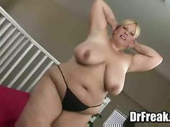 fat bbw toy dildo mom housewife