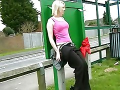 Fetish Pissing Public blonde flashing pee public nudity rude